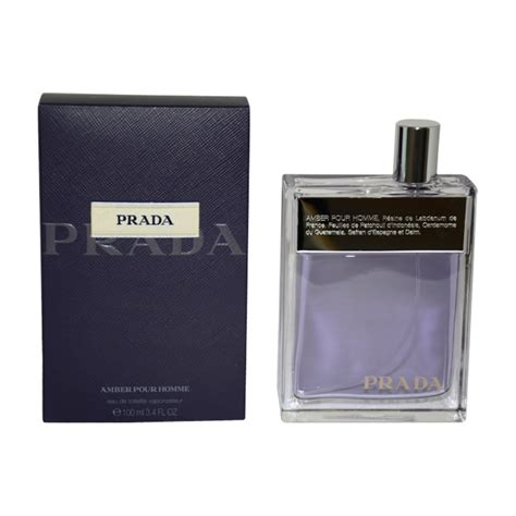 prada amber pour homme by prada for men amazoncom prada amber pour homme by for men 3 4 oz edt spray