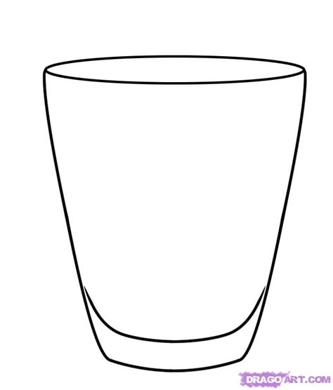 cup cartoon how to draw a glass step by step stuff pop culture