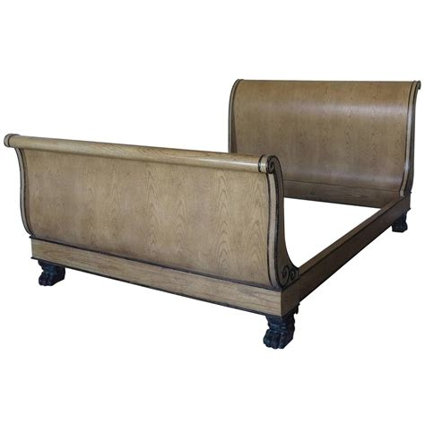 Vintage Baker Queen Size Sleigh Bed For Sale At 1stdibs Sleigh Beds For Sale