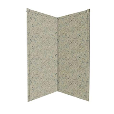 Composite Shower Wall Panels by Shop Transolid Decor Matrix Sand Fiberglass And Plastic