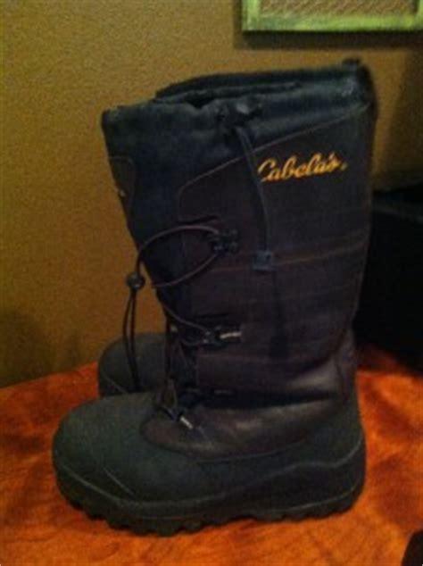 cabelas mens snow boots cabela s trans alaska thinsulate insulated mens size 10