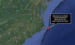boat shipping north carolina u576 wreckage found 30 miles off the carolina coast