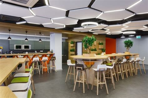 office canteen design odnoklassniki offices by briz studio saint petersburg