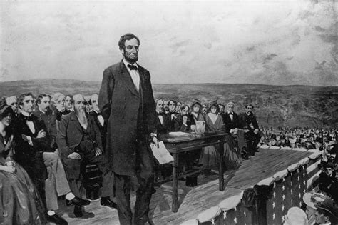 where did lincoln write the gettysburg address purpose of lincoln s gettysburg address