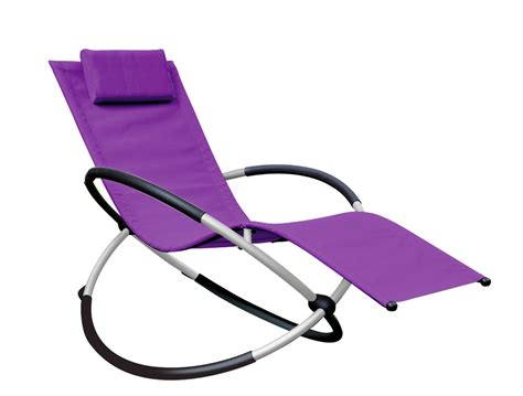 Orbital Relaxer Rocking Garden Chair Purple 163 69 99 Rocking Garden Chair