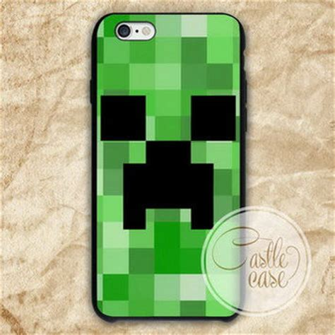 Minecraft Creeper Iphone 4 4s 5 5s 5c 6 6s Plus green creeper minecraft phone from castlecase covers