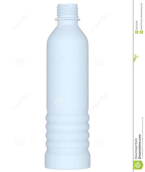 render plastic 3d render of a plastic water bottle royalty free stock