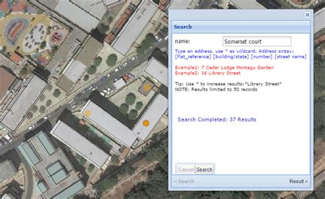 Gibraltar Address Finder Using The Oar Search Tool