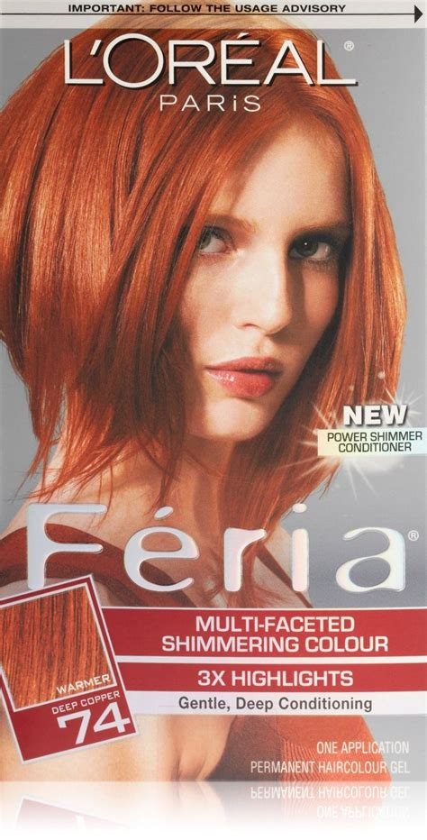 29 best images about loreal hair color on best hair chung and hair studio l oreal feria 74 copper copper shimmer hair hair