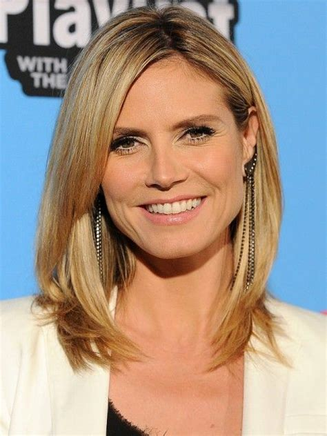 heidi klums face shape 17 best images about hair inspiration on pinterest kate