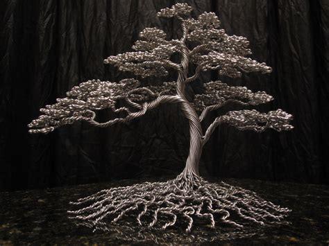tree metal metal tree sculptures kaitrees graphiste
