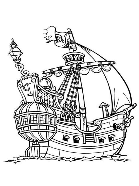 coloring page spanish galleon pirate rat pokemon images pokemon images