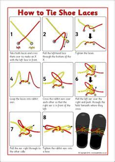 how to teach to tie shoes tieing shoe laces on