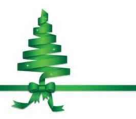 Image green ribbon christmas tree clip art download