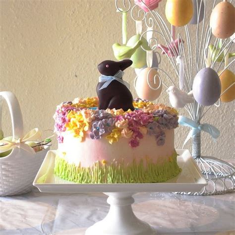 beautiful easter cakes easter cake with choc bunnykins food best of the best