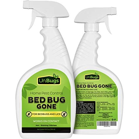 bed bug prevention spray unbugs bed bug spray killer pest control treatment new ebay