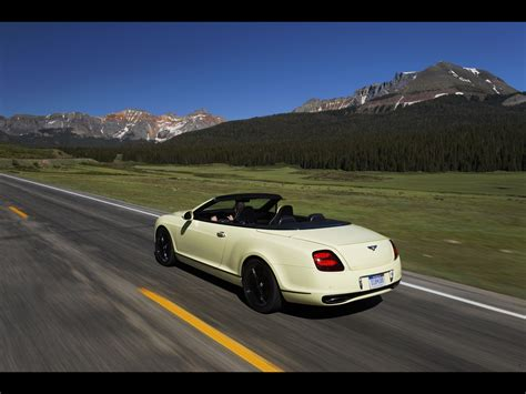 bentley sport convertible 2010 bentley continental supersports convertible related