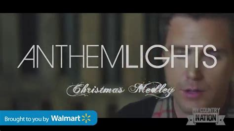 youtube anthem lights christmas medley anthem lights