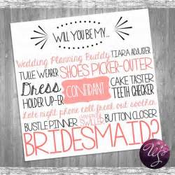 bridesmaid asking cards bridesmaid card quot cake tasting pink quot printable file only ask bridesmaid be in my