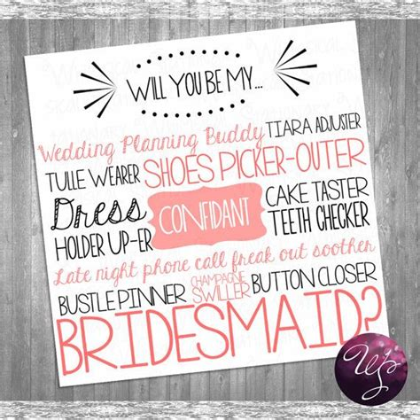 Asking Bridemaids Template Card by Bridesmaid Card Quot Cake Tasting Pink Quot Printable