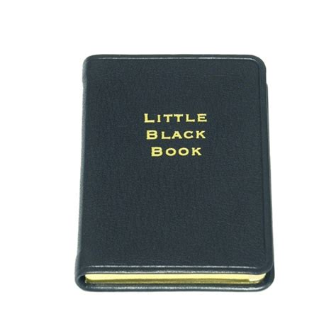 little black book the little black book an iconic address book by blue sky papers