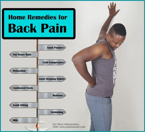 home remedies for back ease back naturally