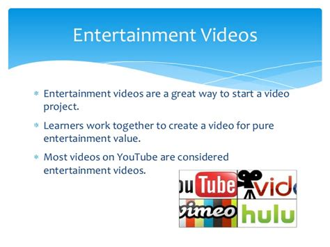 ideas videos some ideas for video projects
