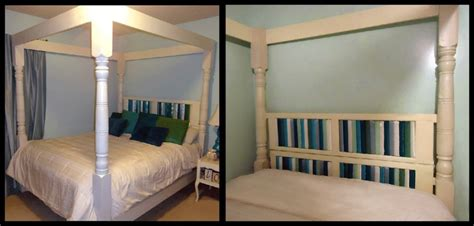homemade canopy homemade canopy bed made from recycled porch posts and
