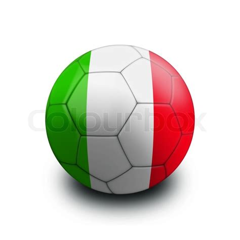 Modern Home Design 3d by Sports Soccer Ball Flag Italy Stock Photo Colourbox