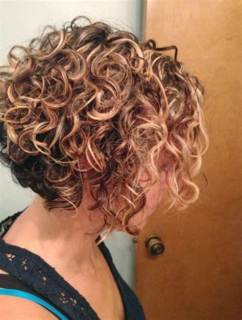 layered permed bob cuts layered short curly hairstyles for women 2015 nice haircuts