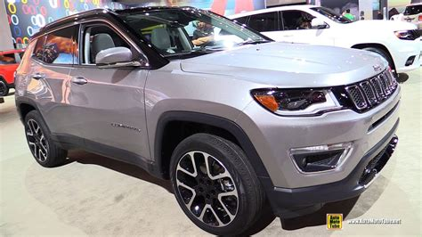 jeep compass all black 2017 2017 jeep compass limited exterior and interior