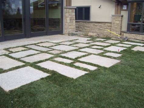 Patio Pavers On Grass New Era Landscape Longmont Co 80501 Angies List