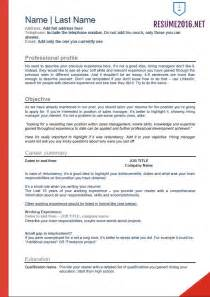 Curriculum Vitae Dentist Sample by 2016 Resume Templates For Those Who Still Unemployed