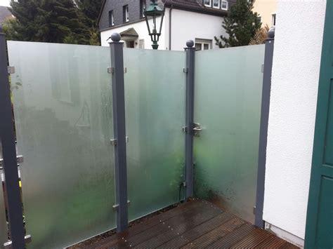 Sichtschutz Gartentor