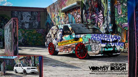 graffiti wallpaper car download wallpaper tunning graffiti car abstraction