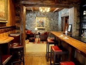 Rustic Bar Designs Home Design Rustic Mountain Lodge Home Bar Design Rustic