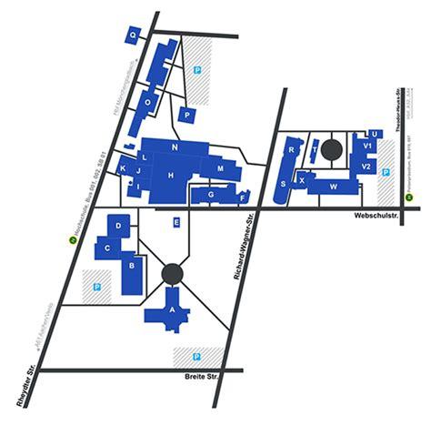 Bewerbung Hochschule Niederrhein Iwist Gmbh Lageplan