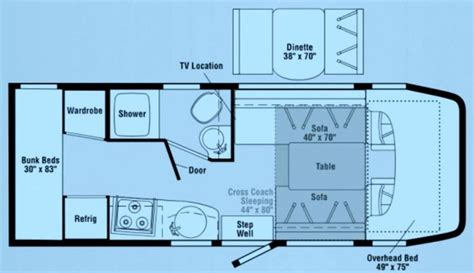 itasca rv floor plans 2008 itasca navion 24 photos details brochure floorplan