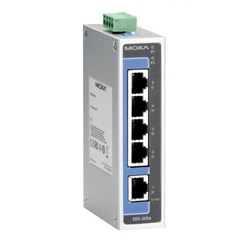 Moxa Eds 205a Ethernet Switches 綷 綷劦 綷 崧 moxa eds 205a unmanaged