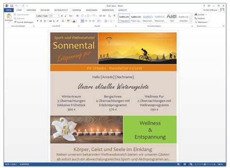 Design Vorlagen Word Erstellen Newsletter Mit Microsoft Word Erstellen Und Versenden