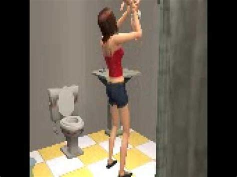 Giving In Bathroom by Giving Birth In The Bathroom The Sims 2