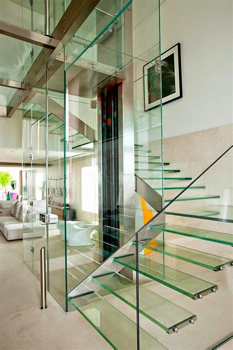 Glass Stairs Design Glass Staircase Designs Types And Features Stairs Designs
