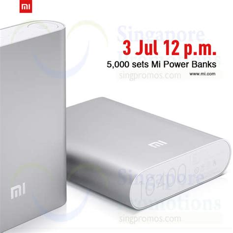 Power Bank Dsbc xiaomi power banks restock sale from 12pm on 3 jul 2014