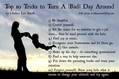 bad day top 10 tricks for stay at home to turn a bad day