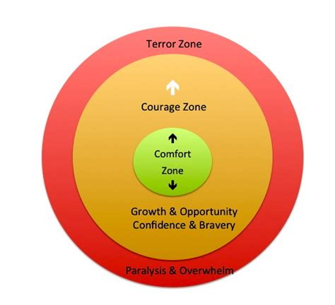comfort zone and courage zone why getting comfortable with discomfort is crucial to success