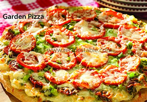Garden Pizza Gardener S Pizza Recipe Dishmaps