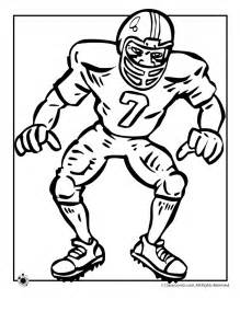 football player coloring pages coloring pages football player coloring home