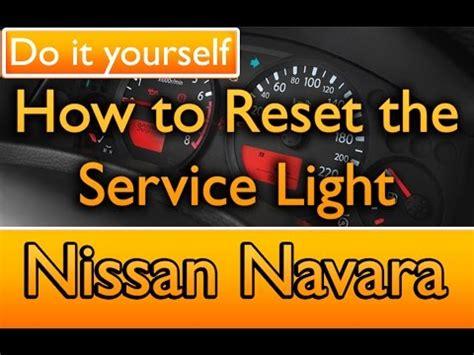 How To Reset Service Engine Light by Nissan Navara D40 Limp Mode With No Check Engine Light