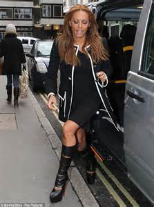 When scary spice tried to be posh mel b ruins her chic ensemble with