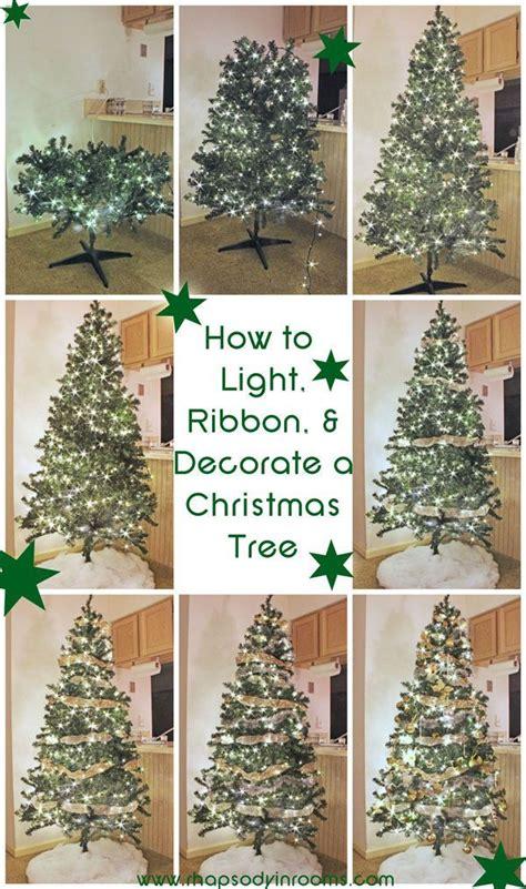 best 25 christmas tree ribbon ideas on pinterest